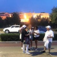 A Barletta arriva La via della felicità con i volontari dell'associazione