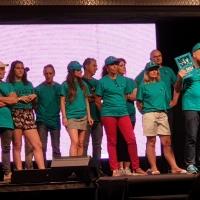 Alla Notte Arancio di Lucca i volontari di Scientology informano sulla droga