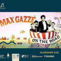Max Gazzè torna in Salento, il nuovo tour farà tappa ad Alessano per il