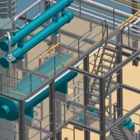 Progettazione di piccoli impianti di processo in 3D