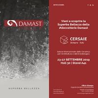 Damast a Cersaie 2019