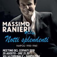 Massimo Ranieri al Meeting del Cervati 2019 con