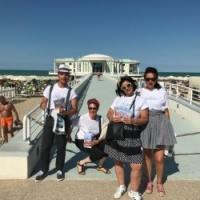 I volontari in stile Vintage al Summer Jamboree con La Via della Felicità