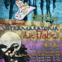 """1 Settembre 2019: Rapone (PZ) Ultramaratona delle Fiabe"""" 46,4 km"""