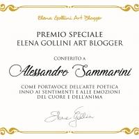 Le intense vibrazioni poetiche di Alessandro Sammarini