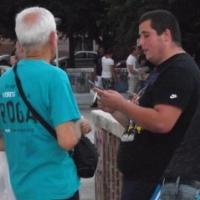 Volontari contro la droga informano i cittadini di Oristano