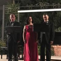 Altro grande successo per il Trio lirico De Maio Lupoli al Giardino di Palazzo del Trono di Cetraro (Cs)