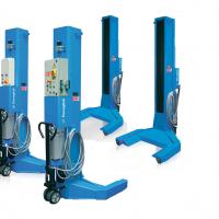 Ponti colonne mobili Ravaglioli: stabilità e mobilità in totale sicurezza