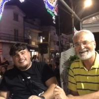 -Brusciano: Antonio Castaldo incontra il trapper Alex Titas nella conclusa Festa dei Gigli. (Scritto da Antonio Castaldo)