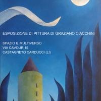 Dopo il successo di Bolgheri, Graziano Ciacchini si prepara per la mostra personale a Castagneto Carducci
