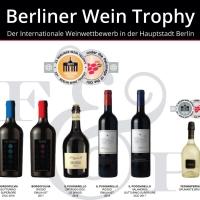 Grande risultato per F&P Wine Group che ottiene cinque medaglie d'oro e una d'argento alla Summer Edition del Berliner Wine Trophy 2019