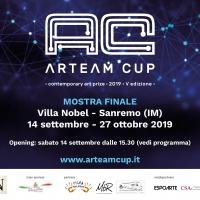 Arteam Cup 2019, la mostra dei finalisti a Villa Nobel, Sanremo