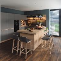 Ceramica e legno naturale, TEAM 7 presenta la nuova cucina cera line