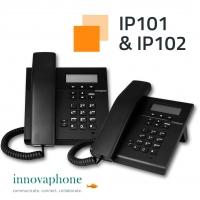 innovaphone produce in Germania la nuova serie di telefoni IP IP101/IP102