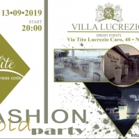 Fashion Gold Party Elite arriva l'edizione settembrina a Villa Lucrezio