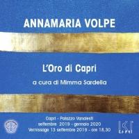 L'Oro di Capri risplende nei colori della pittrice Annamaria Volpe