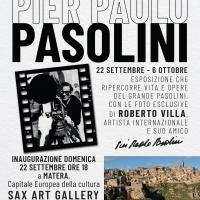 Pasolini a Matera: la mostra antologica curata da Vittorio Sgarbi e Salvo Nugnes