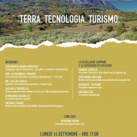 """Lunedì a Napoli il convegno """"Terra - Tecnologia – Turismo"""""""