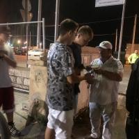 La via della felicità arriva a Barletta con i volontari dell'associazione
