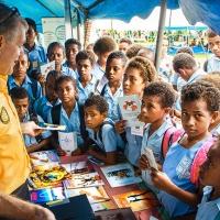 I Ministri Volontari di Scientology arrivano nelle isole Fiji appena in tempo