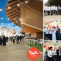 Taste of Roma 2019: grande successo di presenze all'Opening della più importante kermesse italiana del gusto.