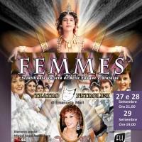 Il Varietà Femmes di Emanuela Mari dal 27 settembre al Teatro Petrolini.