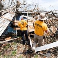 I Ministri Volontari della Chiesa di Scientology portano soccorso negli USA dopo l'uragano Harvey