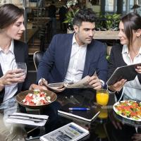 Ixè dieta mediterranea: abitudini dei consumatori nella ristorazione collettiva