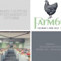 Farm65: i gustosi appuntamenti di ottobre