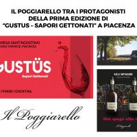 """Il Poggiarello tra i protagonisti della prima edizione di """"Gustus – Sapori Gettonati"""" a Piacenza"""