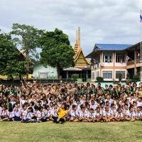 I Ministri Volontari di Scientology in azione nelle scuole della Tailandia