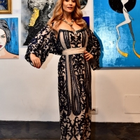L'universale eleganza della collezione 'Stardust' di Fabiana Gabellini - Special guest in passerella Antonella Salvucci