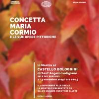 La mostra della talentuosa pittrice Maria Concetta Cormio arriva al Castello Bolognini presentata da Salvo Nugnes