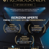 PREMIO DONIDA - 10 ° EDIZIONE