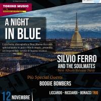 """Blue Mama Records presenta """"A Night In Blue"""" presso lo storico Jazz Club Torino"""
