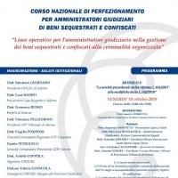 Al via il Corso Nazionale di perfezionamento per gli Amministratori Giudiziari di beni sequestrati e confiscati promosso dall'ODCEC Salerno