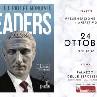 Leaders, il 24 ottobre a Roma la presentazione del libro