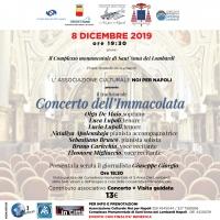 Tradizionale Concerto dell'Immacolata organizzato dall'Associazione Culturale Noi per Napoli