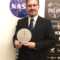 "Il Prof. Emmanuele Macaluso ritira il premio scientifico internazionale ""INTERSTELLARS International Award"""
