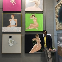 Grandi apprezzamenti in Biennale Milano per Matteo Fieno