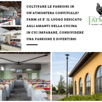 Coltivare le passioni in un'atmosfera conviviale? Farm 65 è il luogo dedicato agli amanti della cucina in cui imparare, condividere una passione e divertirsi