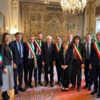 Quirinale, incontro tra il Presidente Mattarella e una delegazione di piccoli comuni