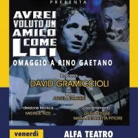 Gramiccioli torna in scena a Torino con la piece dedicata a Rino Gaetano