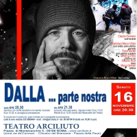 DALLA … parte nostra | Omaggio a Lucio Dalla –  Al Teatro Arciliuto di Roma (16 novembre)