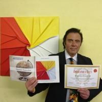 Massimo Paracchini consegue il Premio Internazionale Ambasciatore d'Arte
