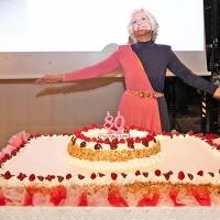 Graziella Holding festeggia gli ottant'anni di Graziella Buoncompagni