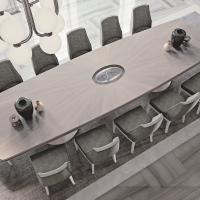 Legno e metallo: Francesco Pasi reinventa il tavolo tra funzionalità ed eleganza