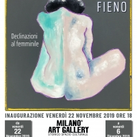 Il talento piemontese Matteo Fieno alla Milano Art Gallery presentato da Salvo Nugnes
