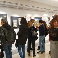 Grandioso vernissage al Museo Crocetti con i curatori Salvo Nugnes e Nicoletta Rossotti