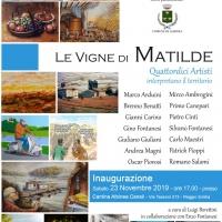 Le vigne di Matilde. Quattordici artisti interpretano il territorio